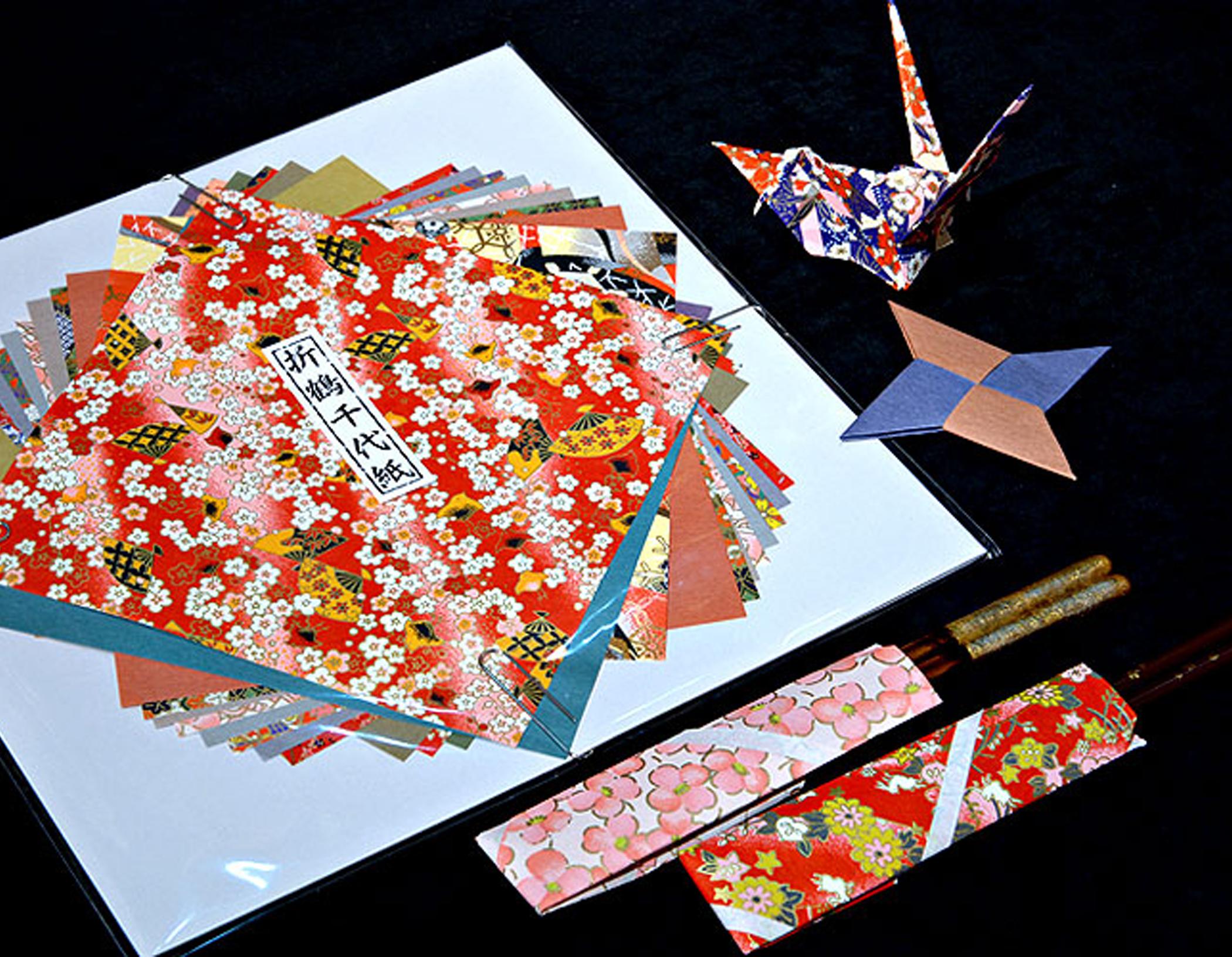 Chiyogami Large Origami Paper « Unique Japan (uniquejapan.com) - photo#49