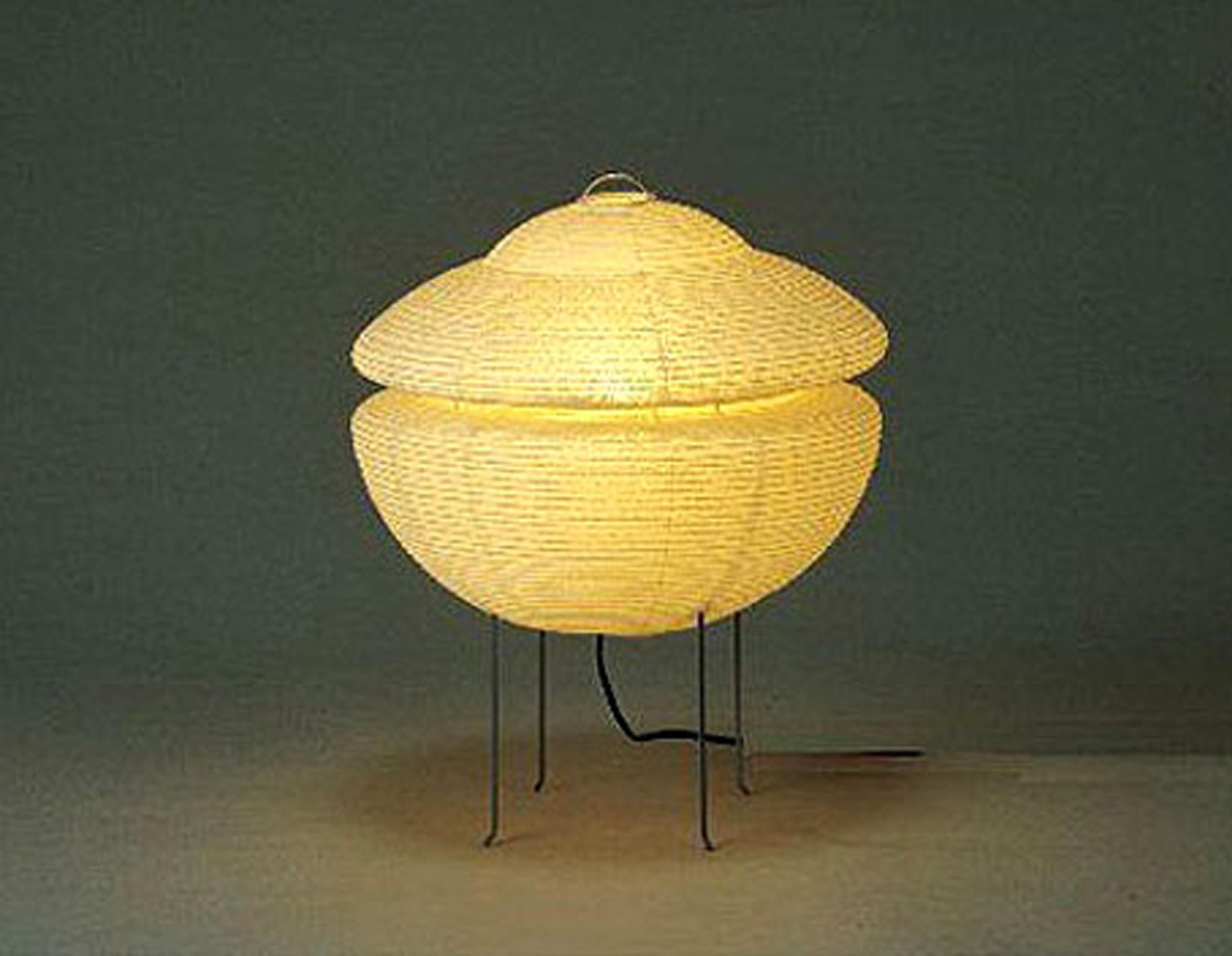 Haruame Floor Lamp Handmade Using Authentic Anese Washi Paper