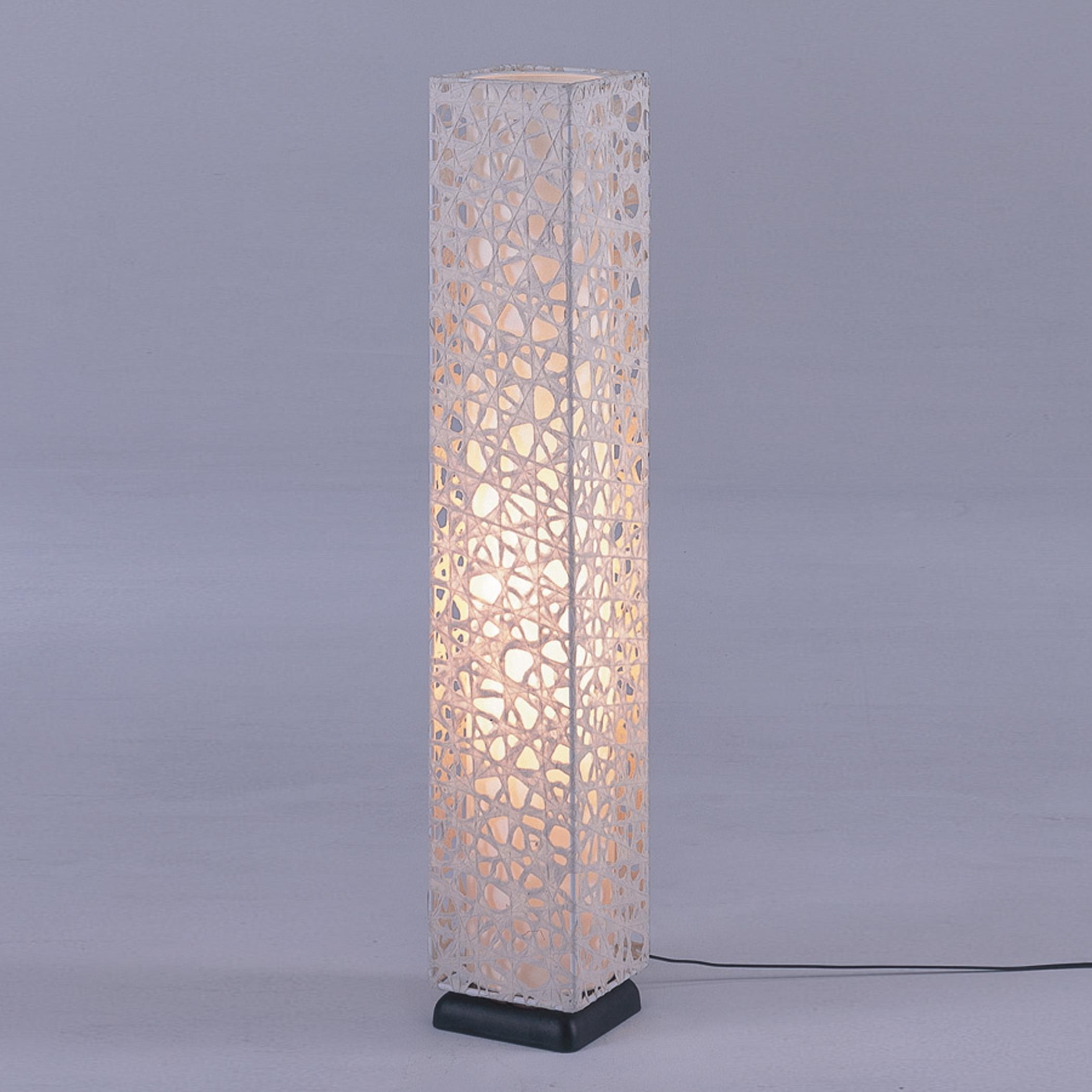 Hayashi art paper lamp beige unique japan - Hand made lamps ...