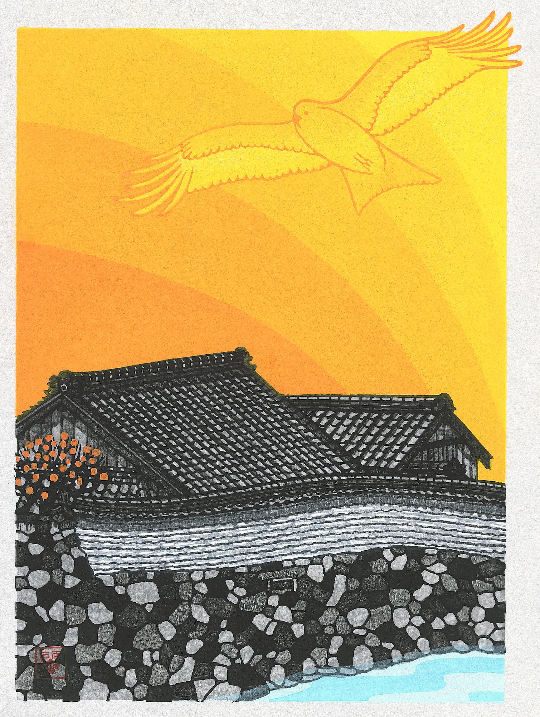 David Stones – Woodblock Artist Walls and Tiles Oshibuchi « Unique ...
