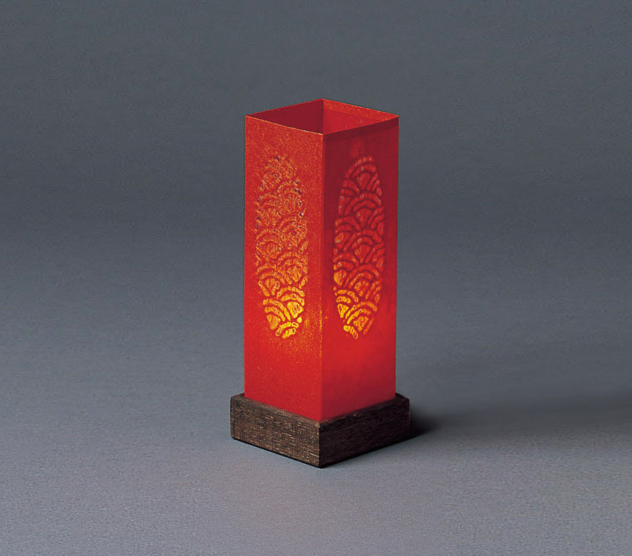 "Well-liked Red ""Candle"" Table Lamp « Unique Japan (uniquejapan.com) MF83"