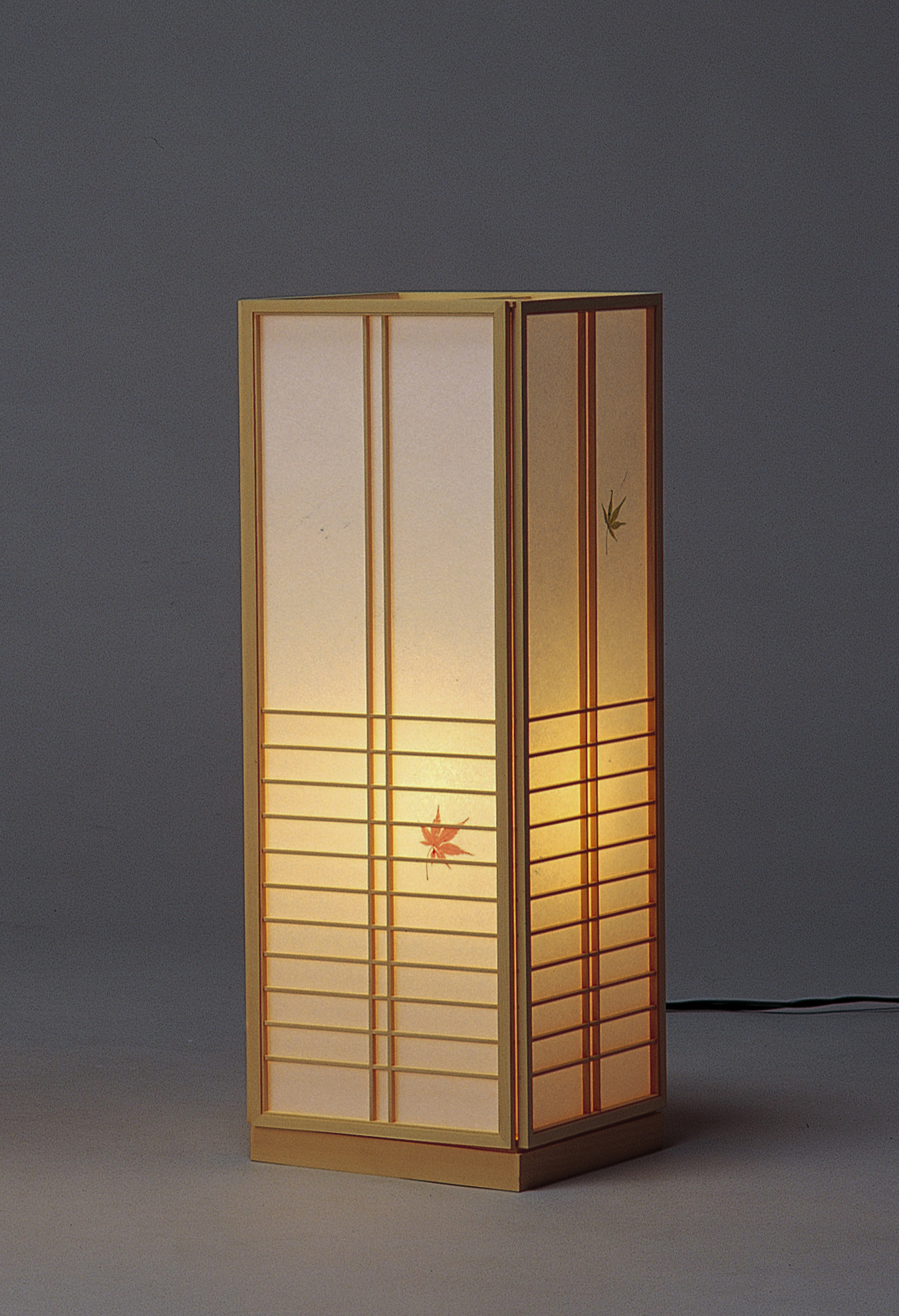 Leaf Lamp Traditional Maple style Tall Paper « orBCedxWQ