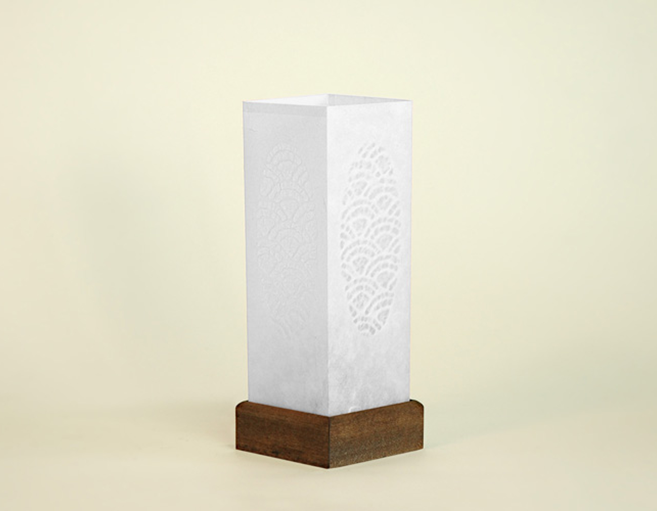 """White """"Candle"""" Table Lamp"""