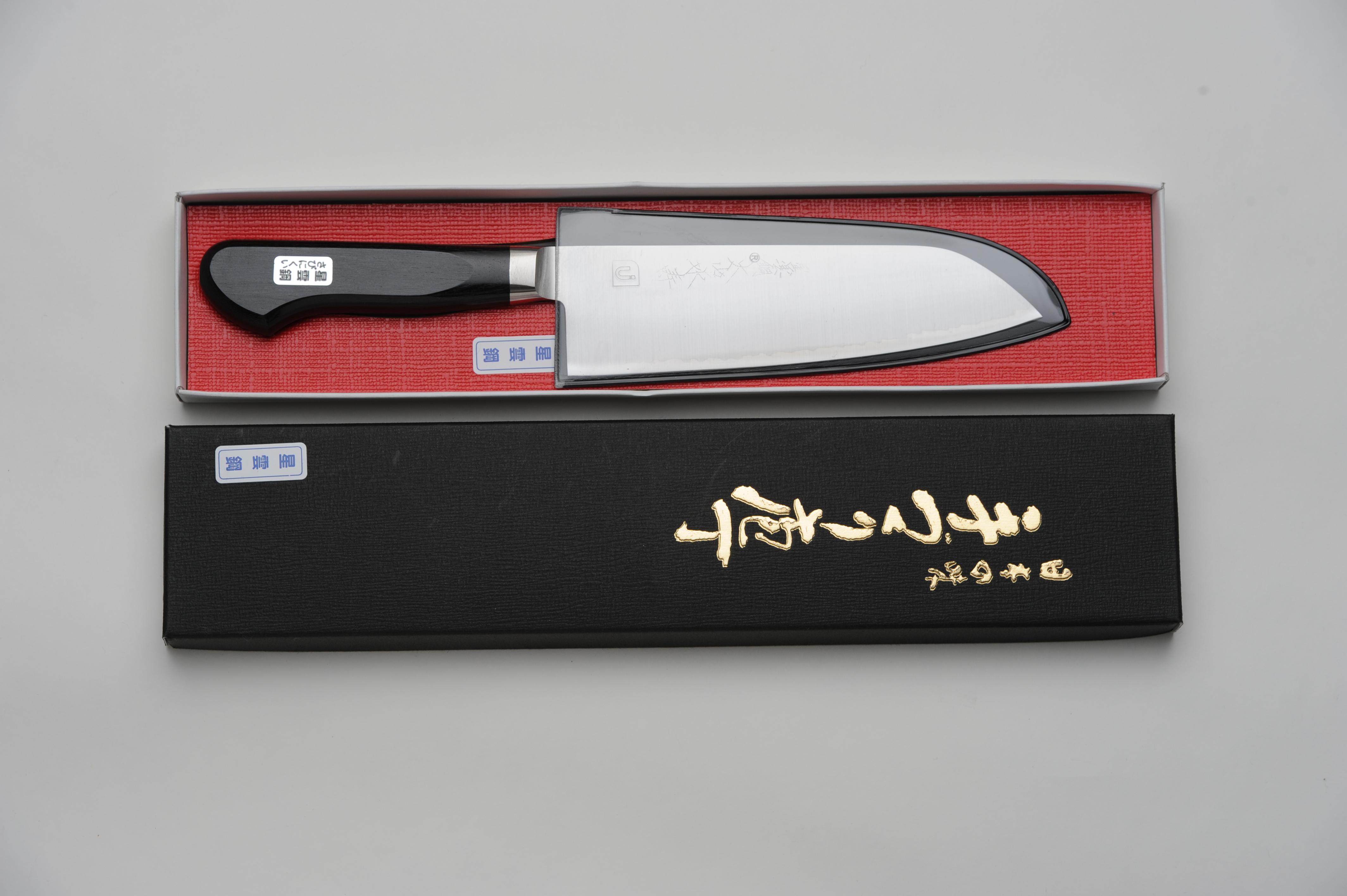 oyama santoku bocho multipurpose kitchen knife 165mm 6 5in