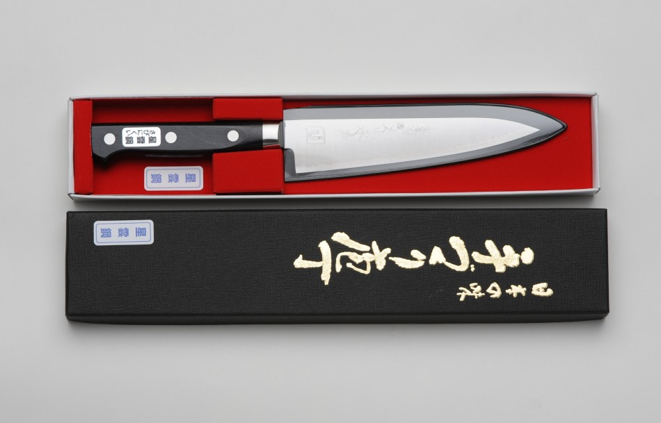 katana kitchen knife. pictured together. japanese cooking knives