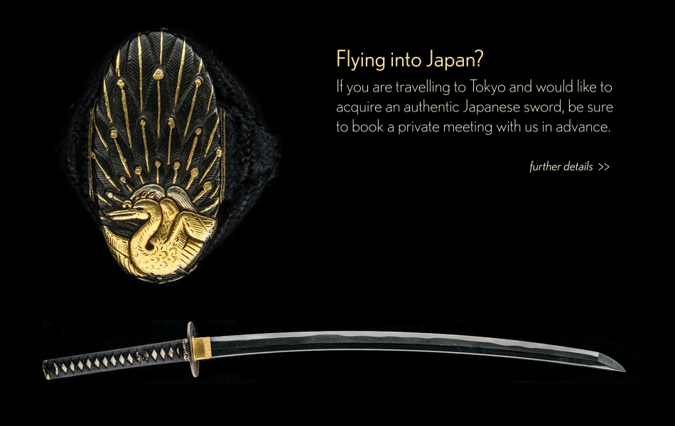 Flying into Japan - Private Sword Meeting Unique Japan