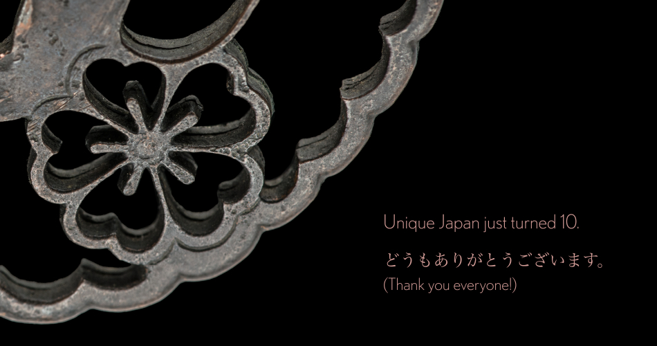 Unique Japan Thanks You All for 10 Years