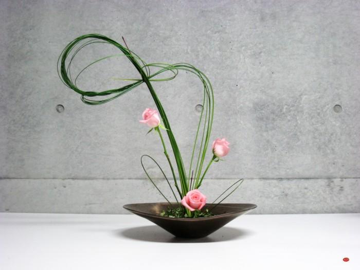 ikebana gallery 048 ribbon unique japan. Black Bedroom Furniture Sets. Home Design Ideas