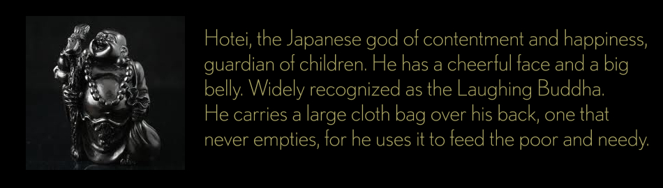 Hotei - God of Contentment and Happiness