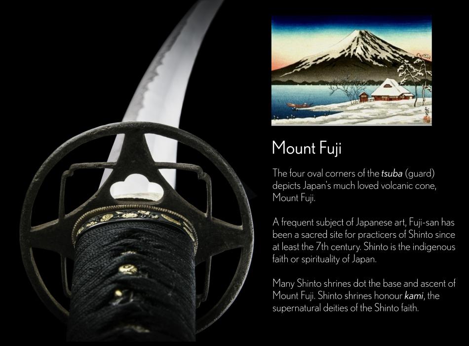 Mount-Fuji-Tsuba-Masanobu-Wakizashi
