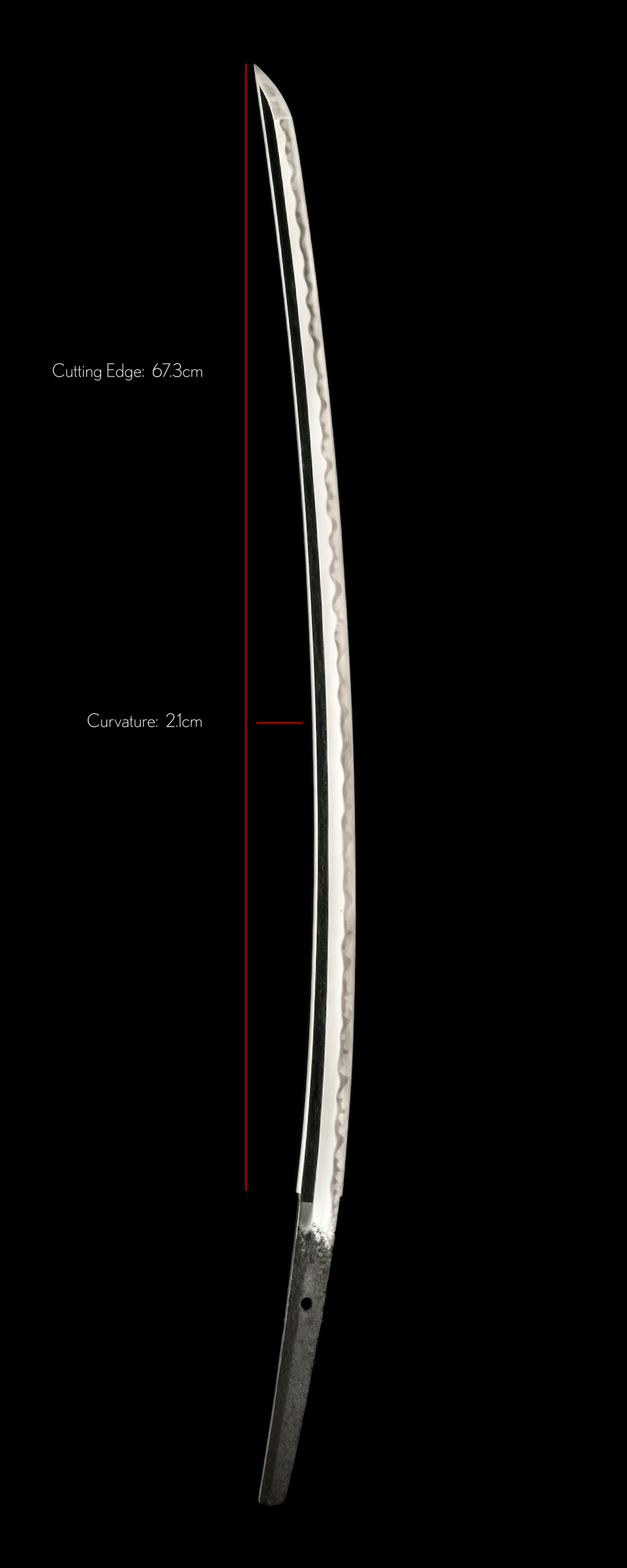 A Kanezumi Katana from the Eiroku Era Statistics