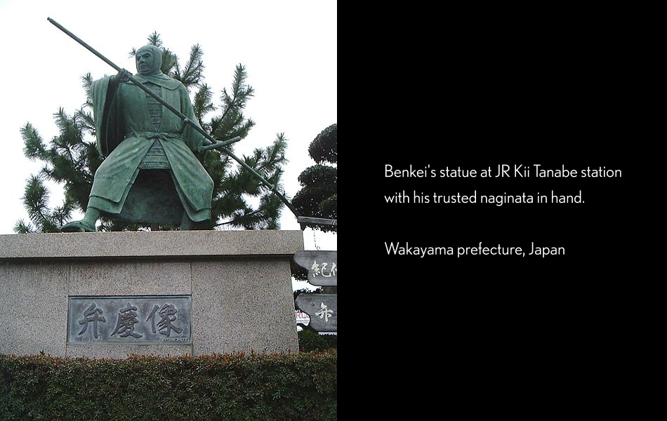 Benkei Warrior Monk Statue