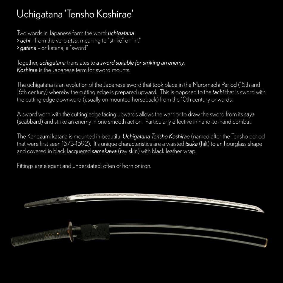 Uchigatana Tensho Koshirae Explained