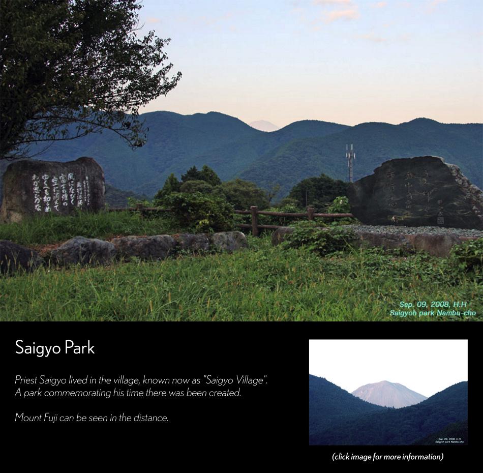 Saigyo Pass - Mount Fuji