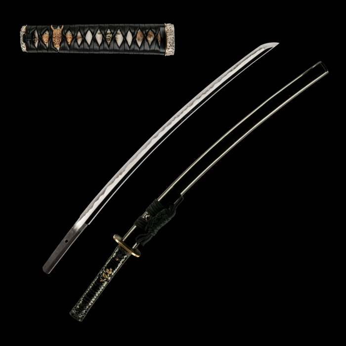 A Harumitsu Wakizashi with custom koshirae copyright Unique Japan