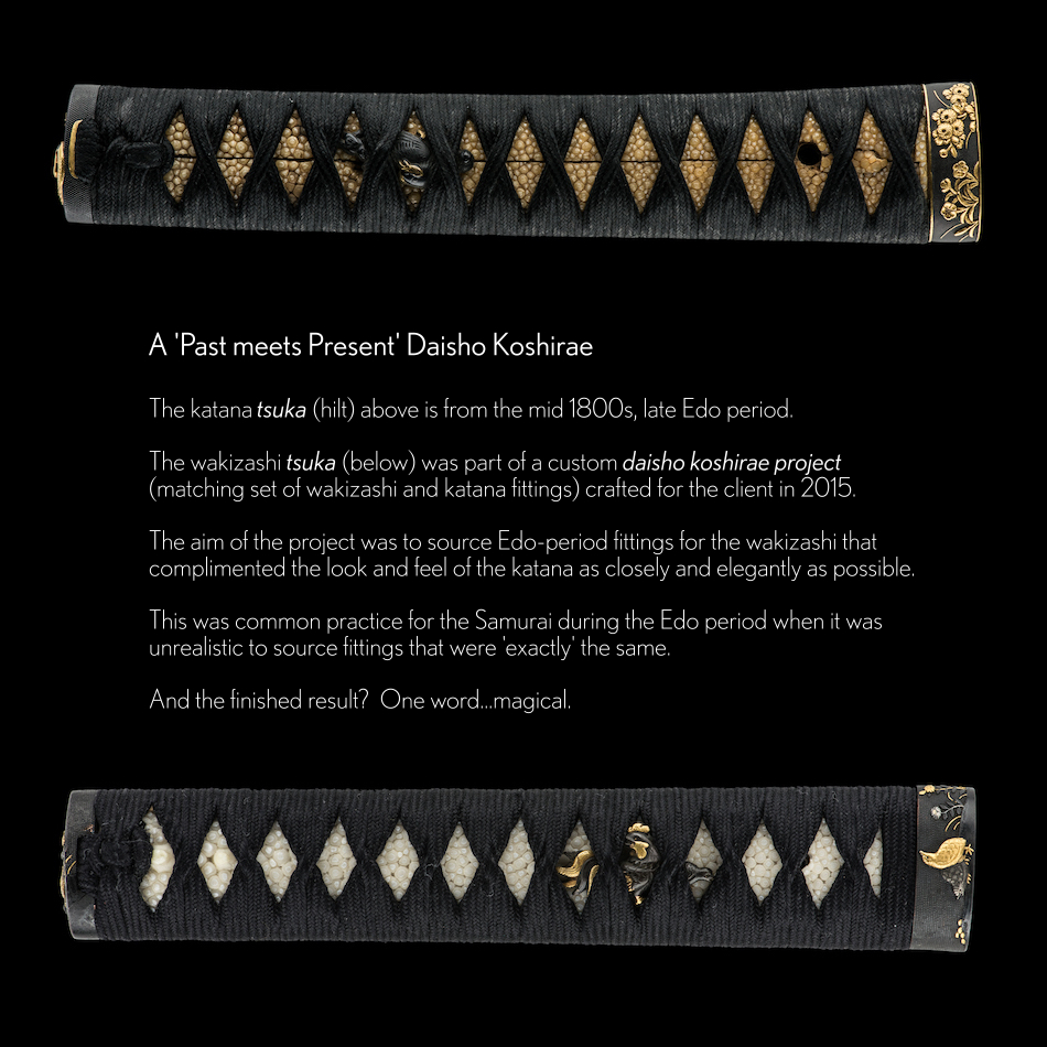 ujka139 - A Masanori Katana Cutting Test - Daisho Fittings