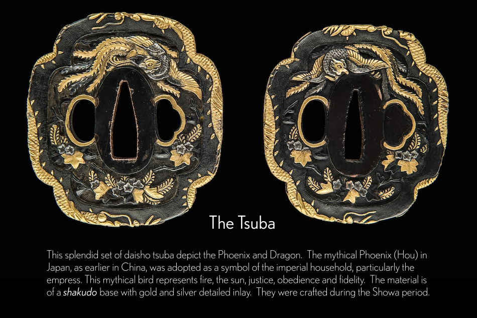 Phoenix Daisho Tsuba